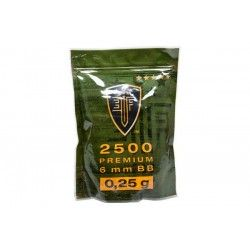 Kulki ASG Elite Force Premium 0,25g 2500 szt.